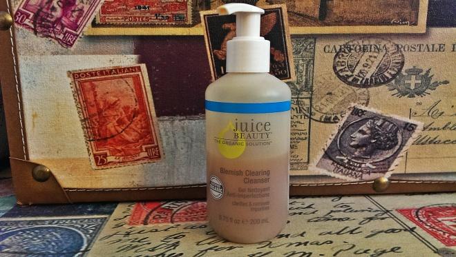 Kết quả hình ảnh cho Juice Beauty Blemish Clearing Cleanser